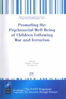 Promoting the Psychosocial Well Being of Children Following War and Terrorism