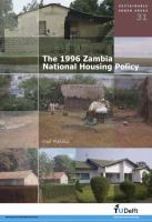 The 1996 Zambia National Housing Policy