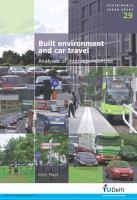 Built Environment and Car Travel