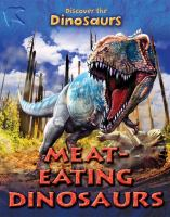 Meat-eating Dinosaurs