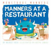 Manners at A Restaurant
