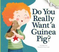 Do You Really Want A Guinea Pig?