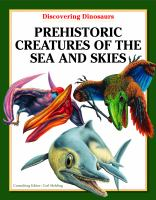 Prehistoric Creatures of the Sea and Skies