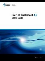 SAS BI Dashboard 4.2