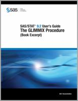SAS/STAT 9.2 User's Guide