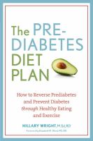 The Prediabetes Diet Plan
