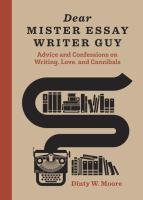 Dear Mister Essay Writer Guy