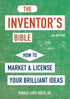The Inventor's Bible