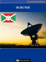 Burundi Media, Internet & Telecommunications Complete Profile