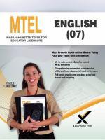 MTEL 07 : English