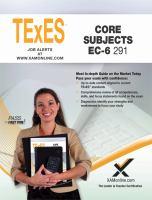 Texes Core Subjects EC-6 291