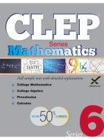 CLEP, College Level Examination Program
