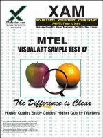 MTEL 17 Visual Art Sample Test