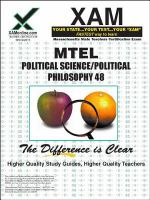 Political Science/political Philosophy