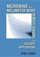 Microwave and Millimeter-wave Remote Sensing for Security Applications