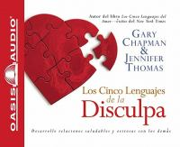 Los Cinco Lenguajes De La Disculpa