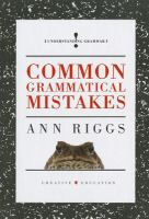 Common Grammatical Mistakes