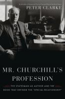 Mr. Churchill's Profession