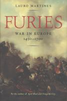 Furies : war in Europe, 1450-1700