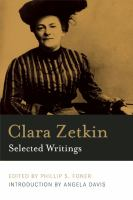 Clara Zetkin, Selected Writings
