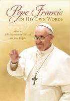 Pope Francis in His Own Words