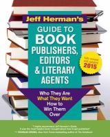 Jeff Herman's Guide to Book Publishers, Editors and Literary Agents
