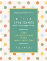 Inspired Baby Names From Around the World