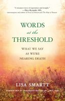 Words at the Threshold
