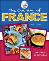 The Cooking of France