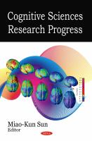 Cognitive Sciences Research Progress