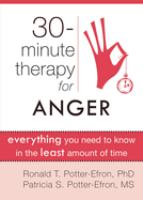 30-minute Therapy for Anger