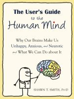 The User's Guide to the Human Mind