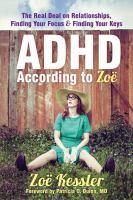 ADHD According to Zoë