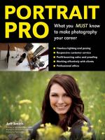 Portrait Pro: What You MUST Know to Make Photography Your Career