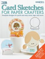 Card Sketches for Paper Crafters