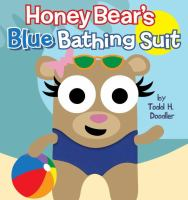 Honey Bear's Blue Bathing Suit