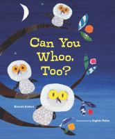 Can You Whoo Too?