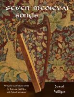Seven medieval songs