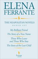 The Neapolitan Novels by Elena Ferrante