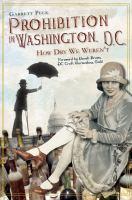 Prohibition in Washington, D.C