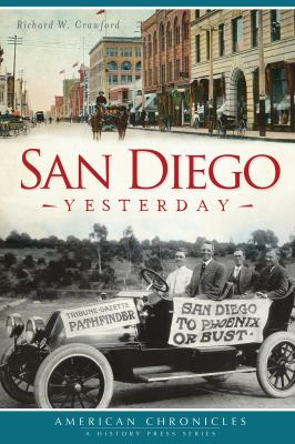 "Picture of the book cover for ""San Diego Yesterday"""