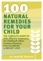 100 Natural Remedies for your Child