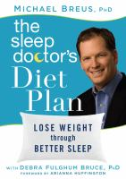 The Sleep Doctor's Diet Plan
