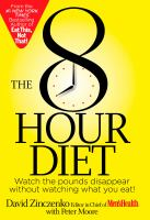 The 8 Hour Diet
