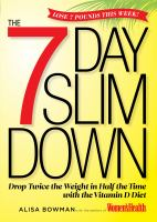 The 7 Day Slim Down