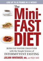 The Mini-fast Diet