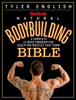 The Men's Health Natural Bodybuilding Bible