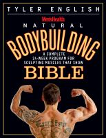 Men'sHealth Natural Bodybuilding Bible