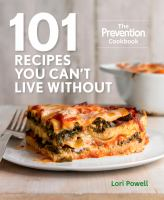 101 Recipes You Can't Live Without