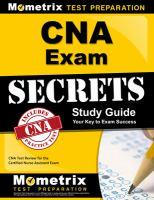 CNA Exam Secrets Study Guide